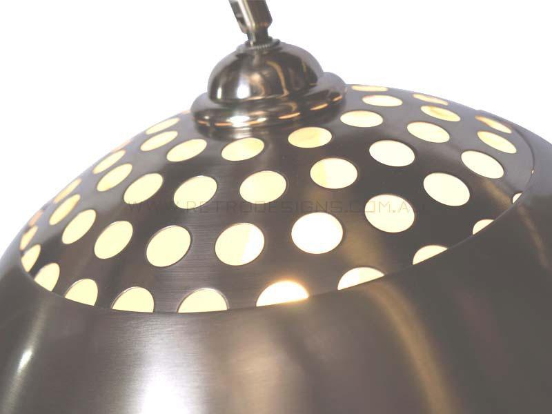 Full Arc Marble Base Floor Lamp Replica