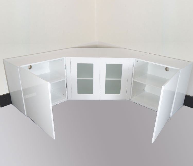 Liberty White Corner Tv Unit