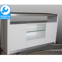 Metro Buffet Furniture White Gloss