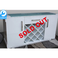 Retro White Buffet Furniture