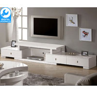 Livio White Extendable Unit