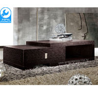 Chocolate Brown Retro Coffee Table