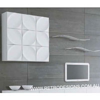 White Gloss Suprilla Hanging Cabinet Box