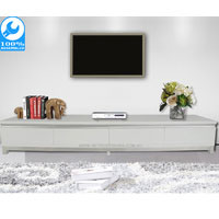 Puntra White Gloss TV Cabinet