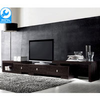Retro Brown Extendable TV Cabinet