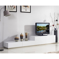 Tetra White Gloss TV Unit