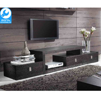 Ella TV Cabinet Black Oak