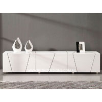 White High Gloss Intivia TV Unit