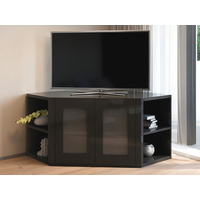 Olympia Black Corner TV Unit