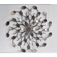 Alaska Abstract Metal Wall Art