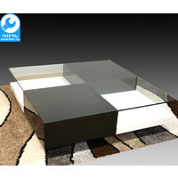 Black & White High Gloss Chessa Coffee Table