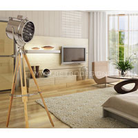 Abram Search Light Tripod Floor Lamp Replica