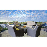 Oxford 6 Seater Wicker Outdoor Furniture