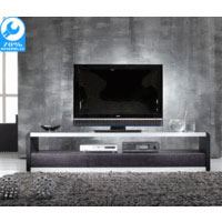 White Gloss Mentra TV Cabinet