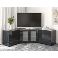 Liberty Black Corner TV Unit